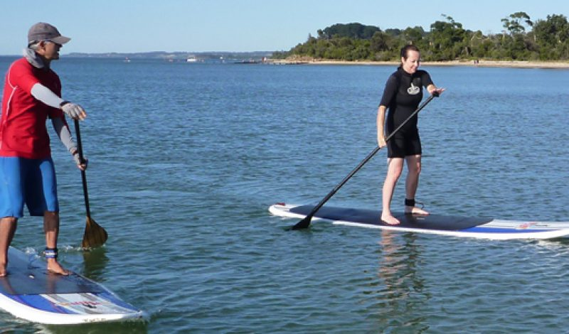 The Water Sports Stand Up Paddling (SUP)