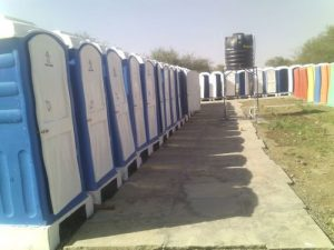 portable toilet rent