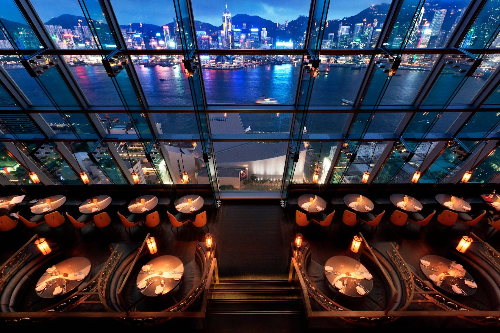 cocktail bars in Hong Kong.